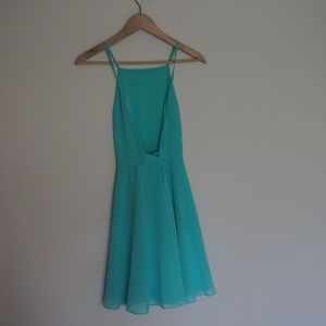 Urban Outfitters Dresses - [UO] Silence + Noise Chiffon High Neck Apron Dress